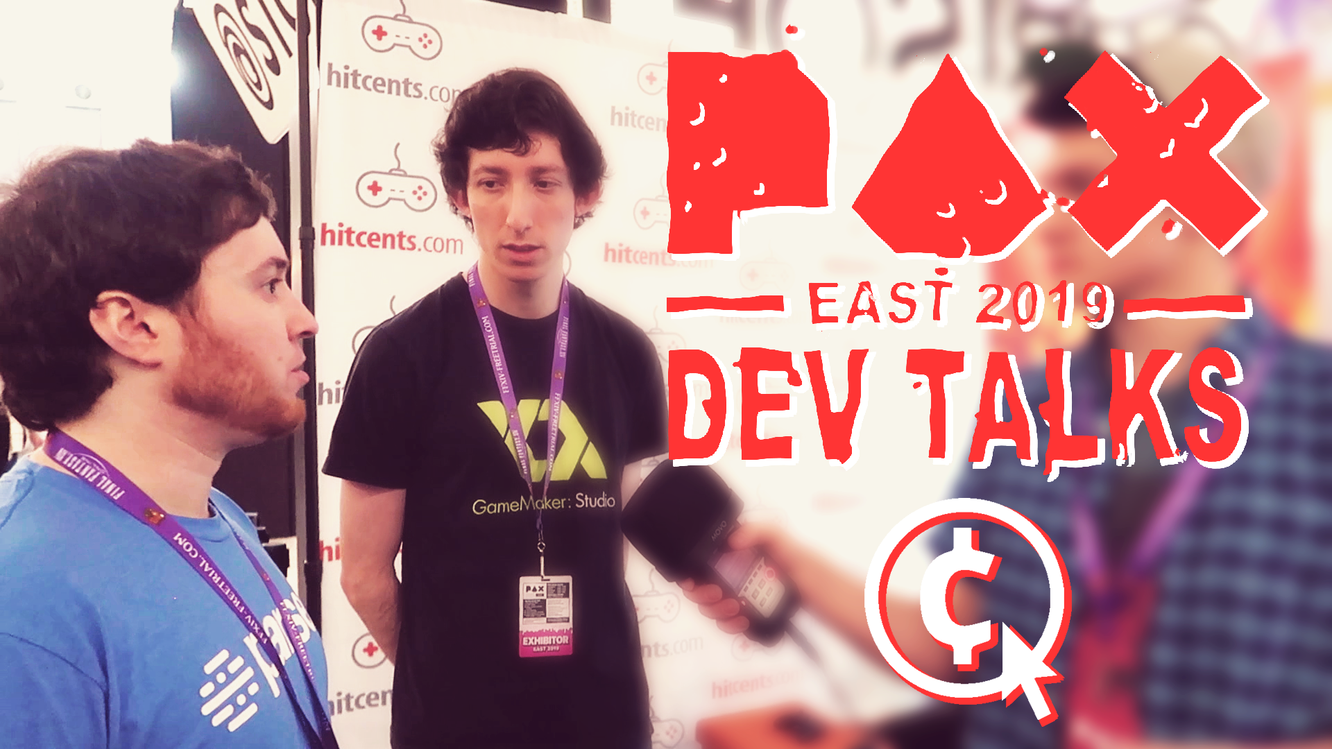 GARNERING THE ATTENTION OF GAMERS AT A CON - Article & Video Interview