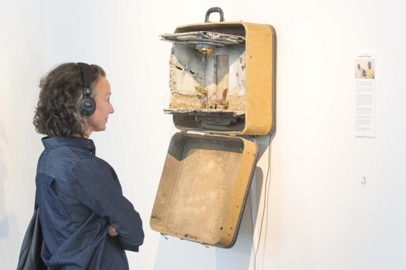 UNPACKED: Refugee Baggage multi-media installation