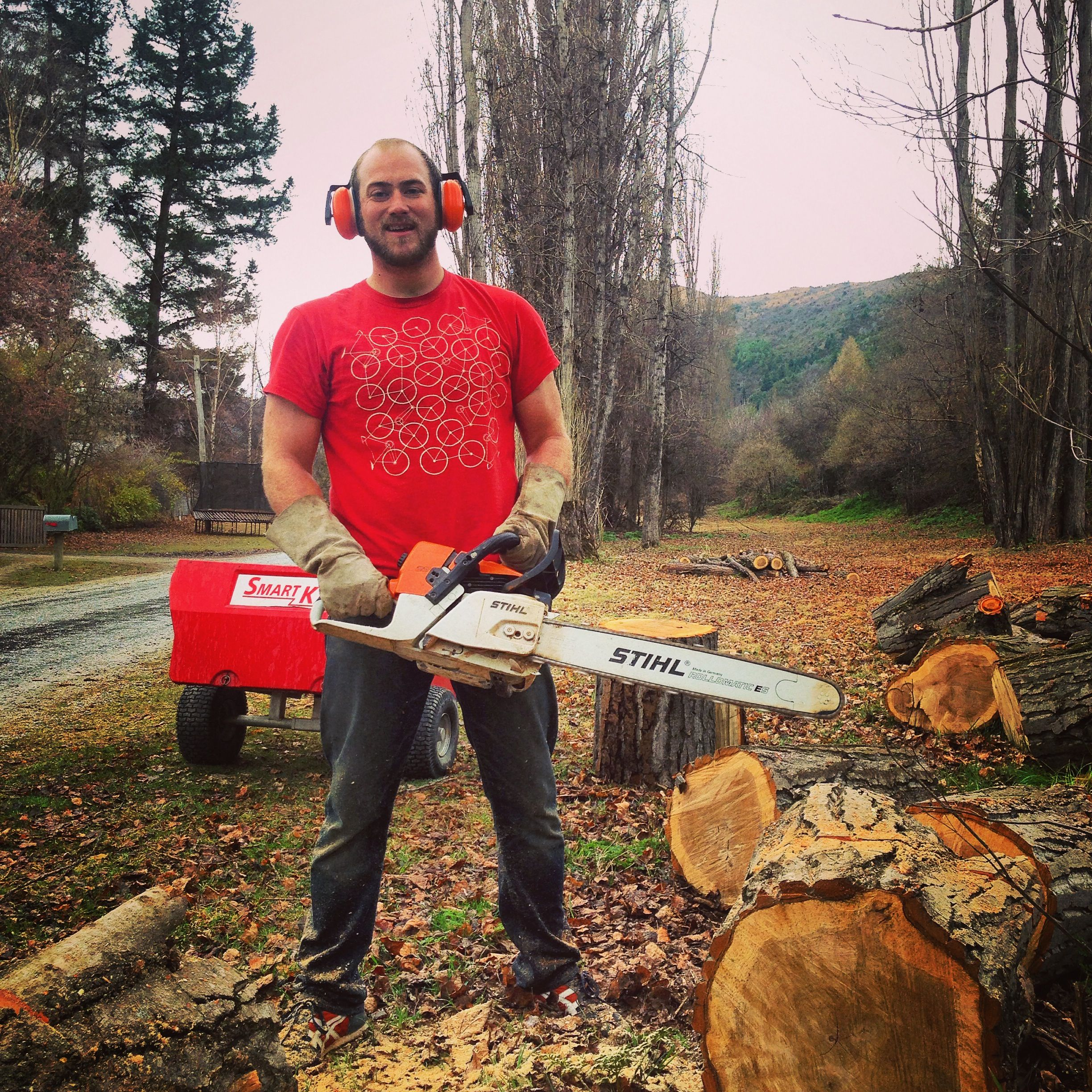The BIG boy chainsaw!