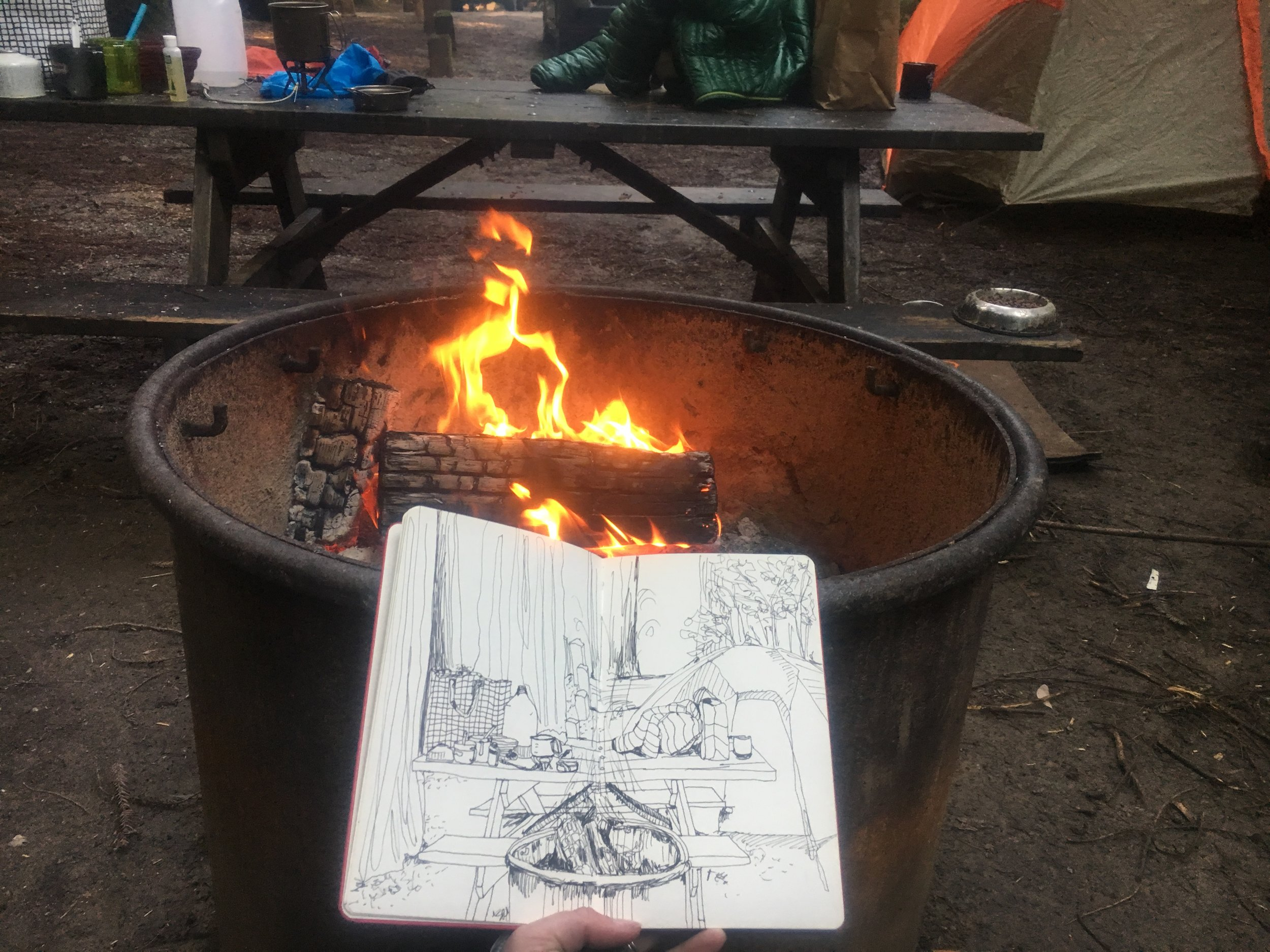 Camping with Giants, 2017
