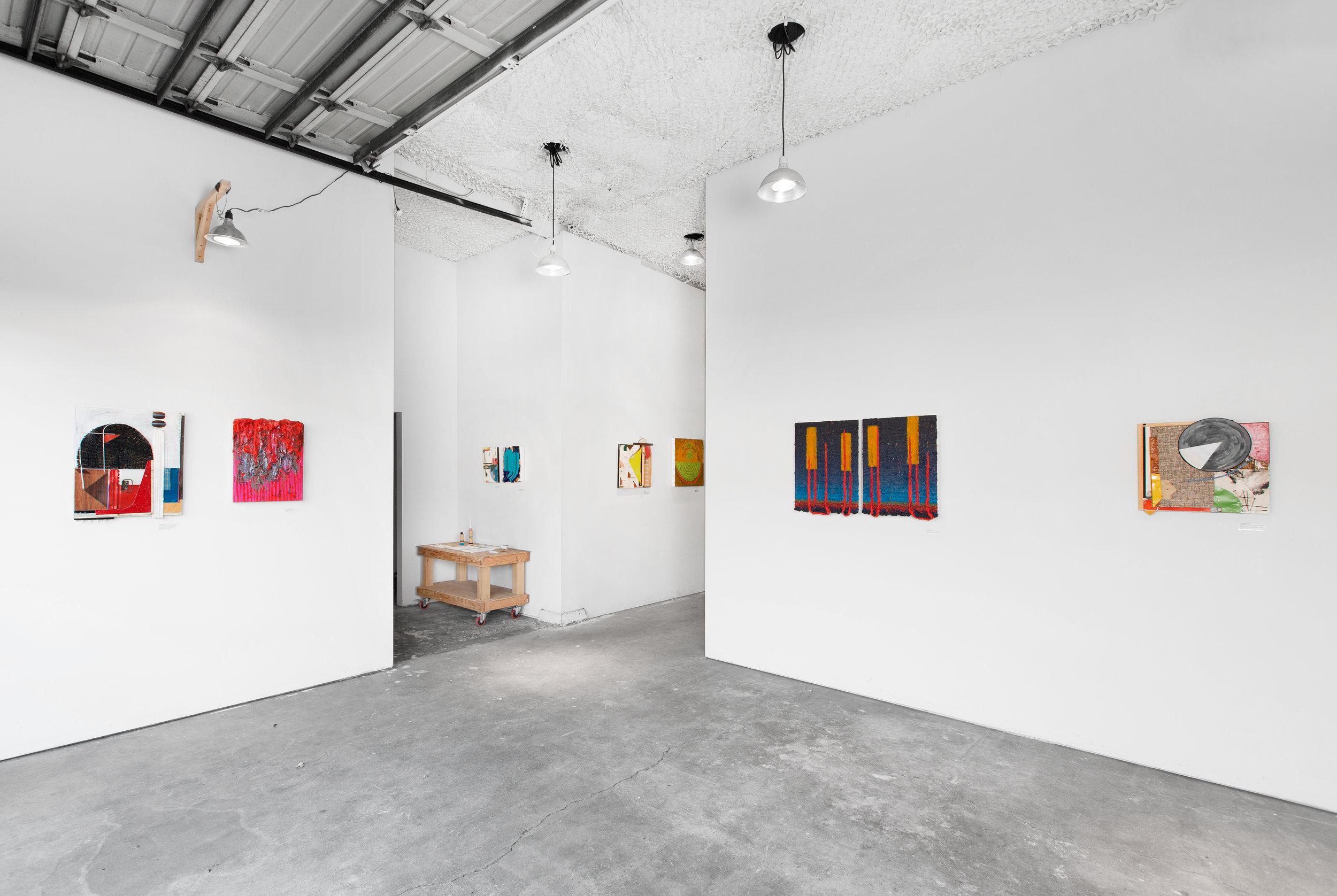 Installation shot by Rafael Soldi at Plank Gallery