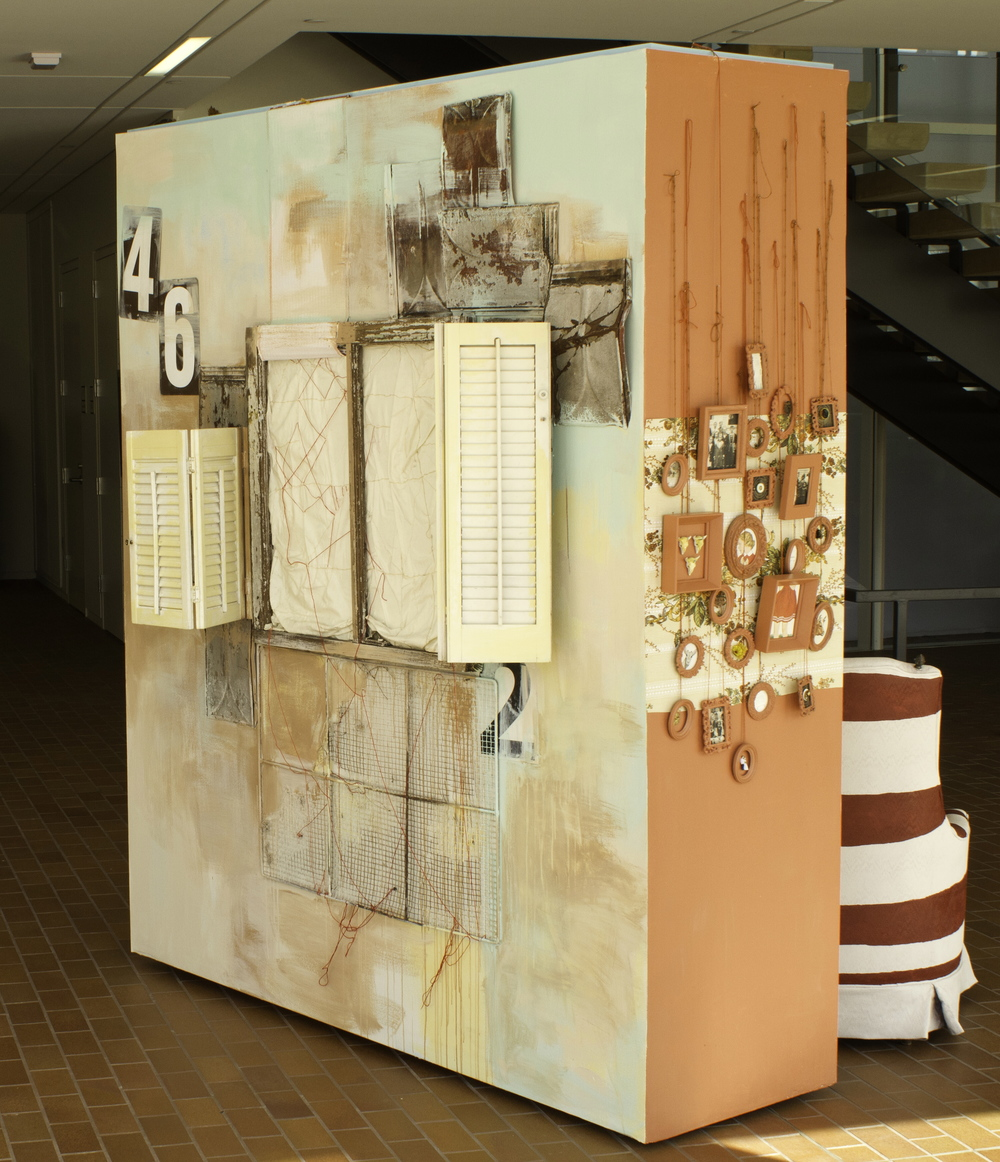 House of Collections,  2012, Site Specific Installation, (Back View), Image courtesy of Adam Anderson