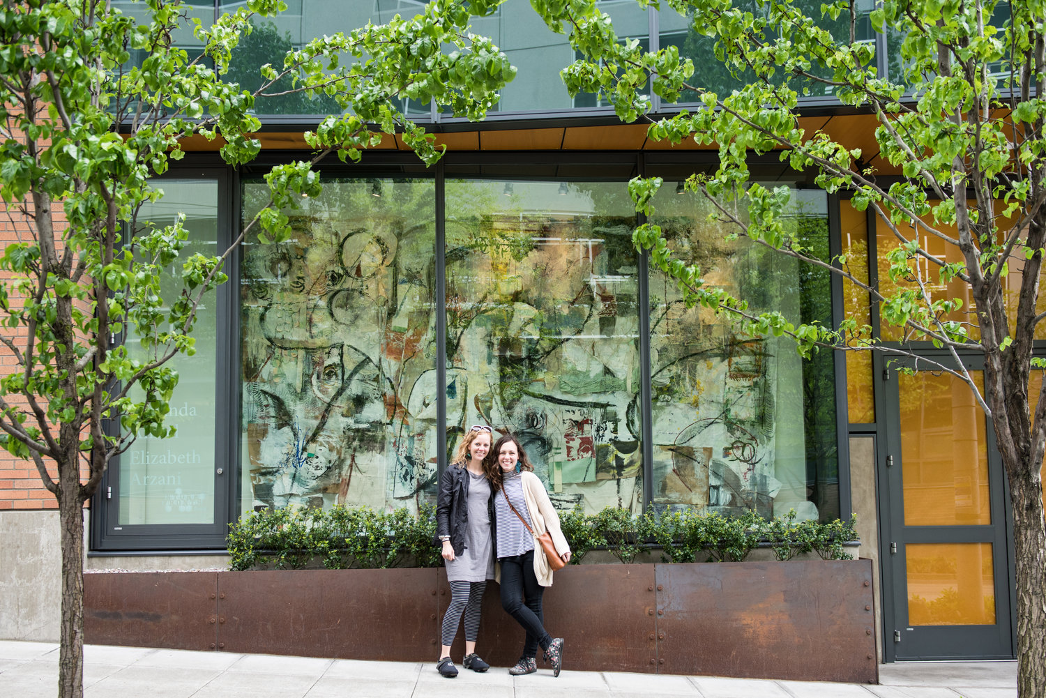 Harrison Storefront: Tiny Human Moments by artists Amanda Amsel and Elizabeth Arzani |  photo by Natalia Dotto for  Seattle Refined