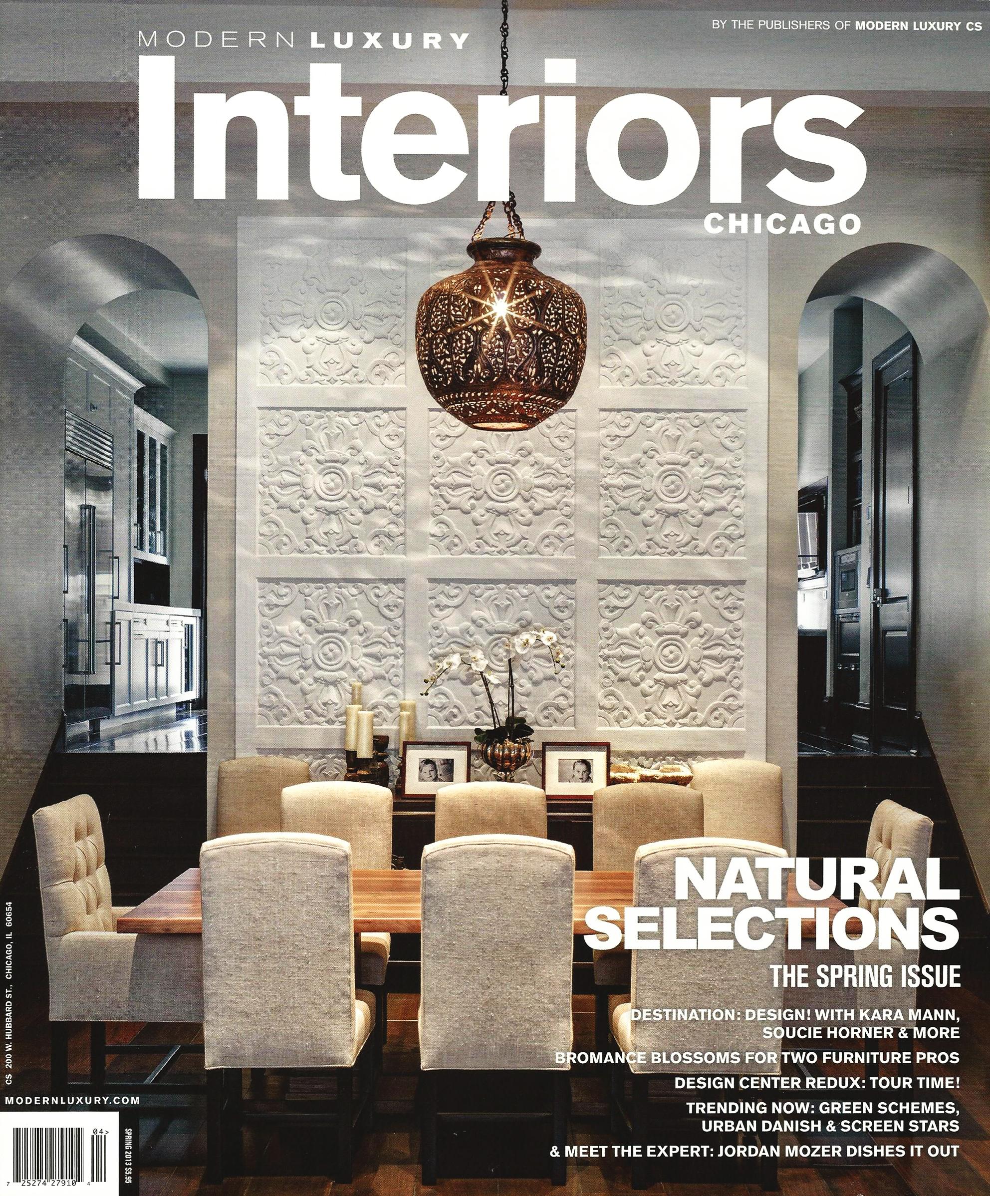 Modern Luxury Interiors Chicago - Spring - pg 58 60 - 2013