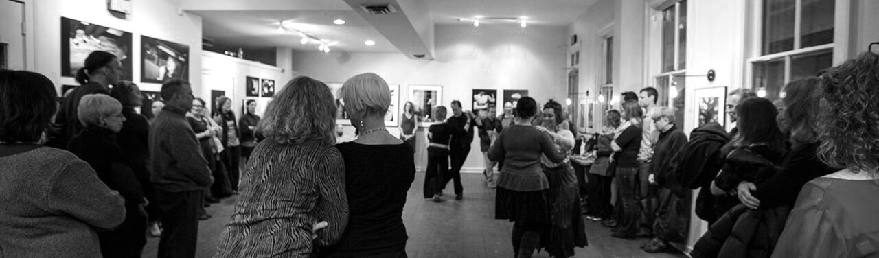 TANGO DANCING AT SIX DEPOT/ PHOTO COURTESY RITA FOLEY