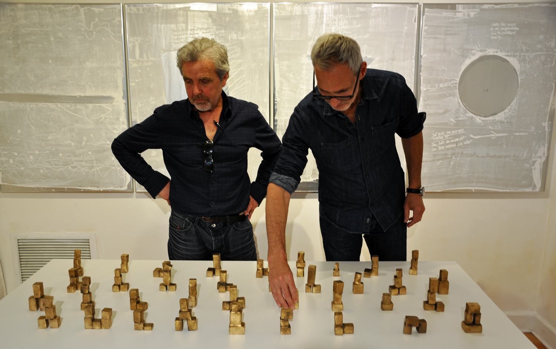 Bernd Haussmann (l) and Peter Bradley Cohen (r)
