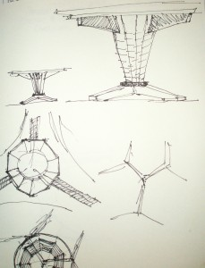Sketch of Martin table