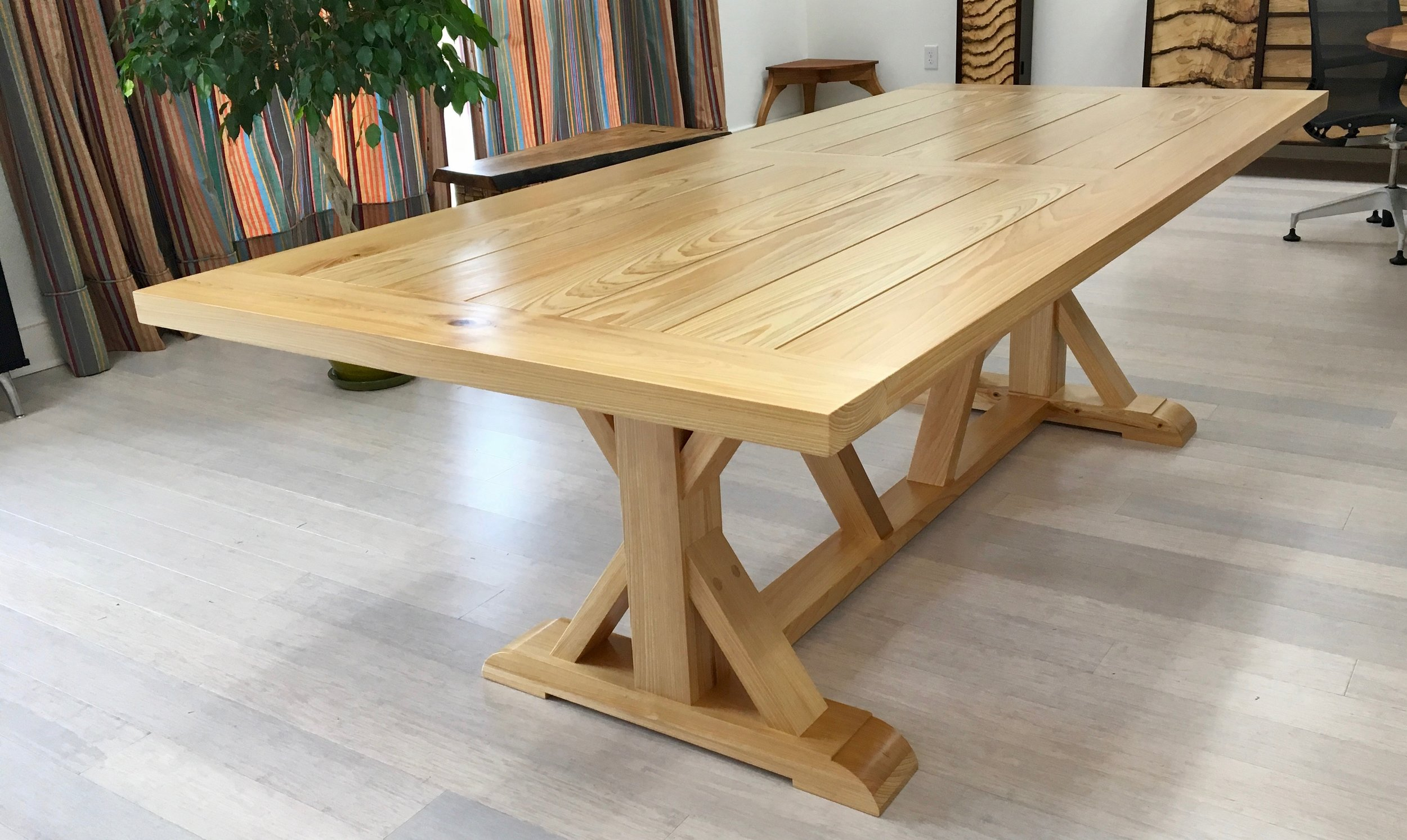 Cypress Dining Table Woodleaf Studios
