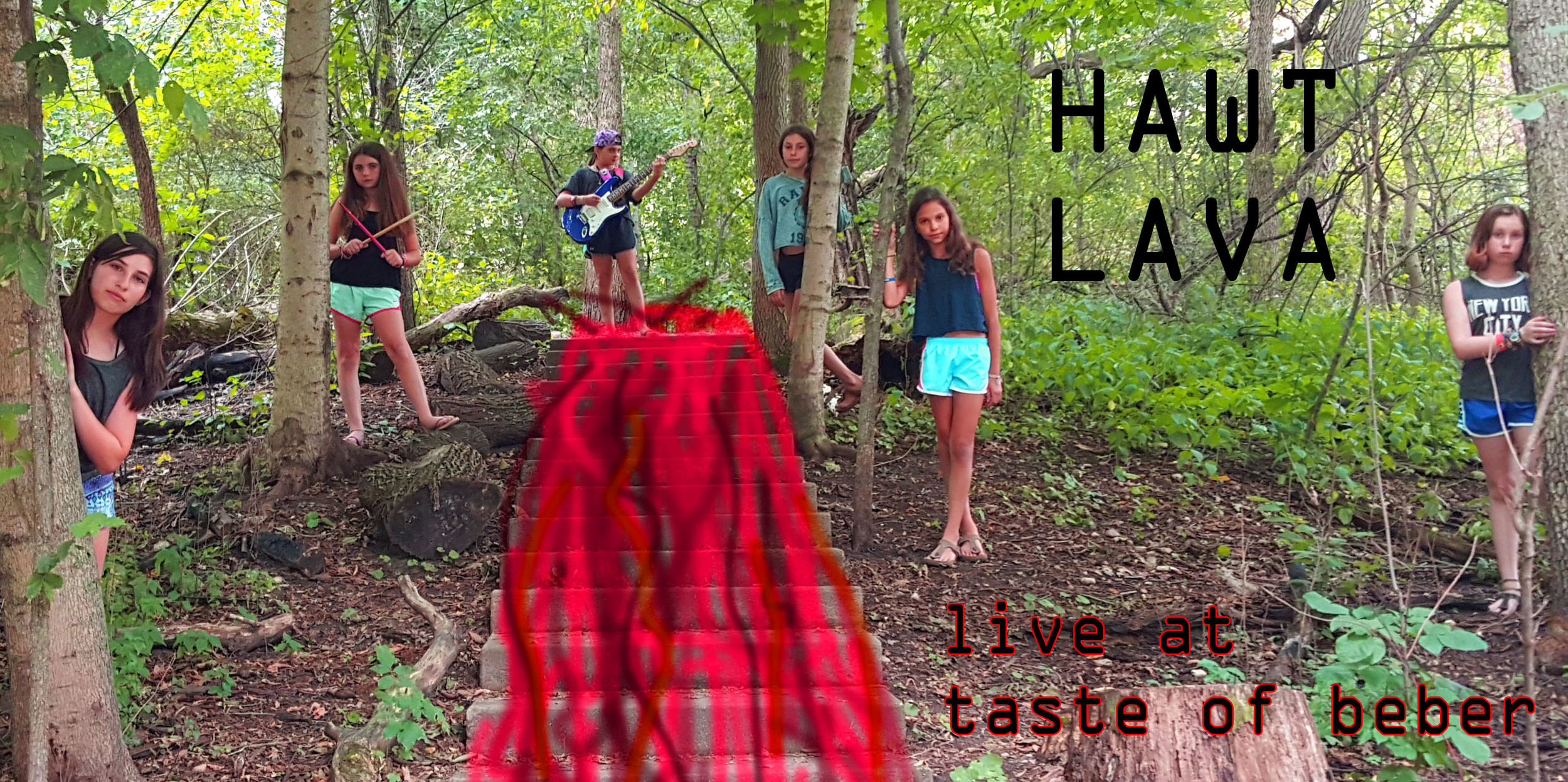 The Kesher band Hawt Lava was on fire this session, recording a great studio track, and rocking the Taste of Beber festival on the island! Check out their recording, and some pictures from the festival appearance!