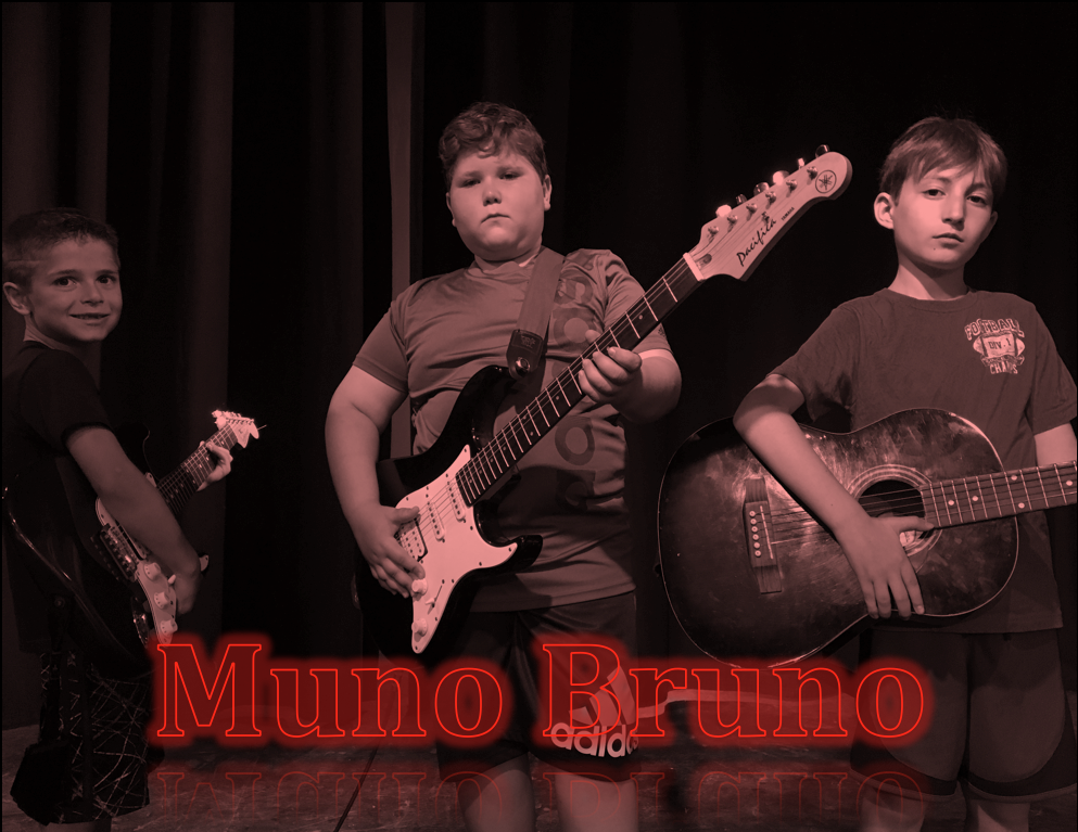 We are Muno Bruno. Our names are Arthur, Carter, and Daniel. We are from Chicago, Wisconsin, and New York, and our song is called Cabins on the Lake. Cabins on the Lake is about Beber Camp and some of the fun activities we get up to at camp. Some of our favorite hobbies include tennis, aqua park, recording studio, and woodworking. It is our first hit record. It is Carter's first year and Daniel's second and Arthur's third year. Check out our song below!