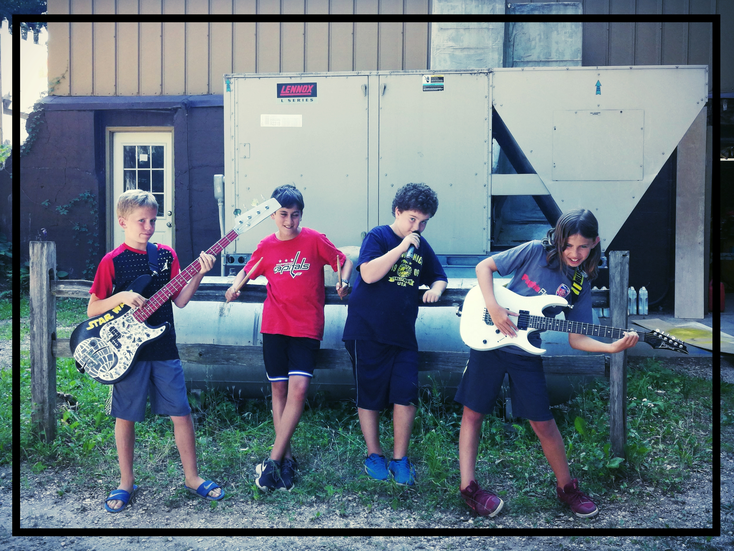 The band and the air conditioner that changed their lives