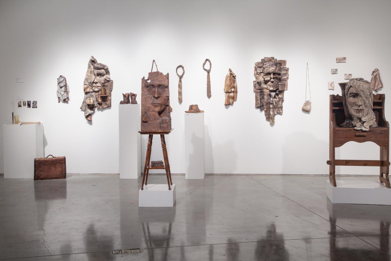 Claire Shurley   Belongings   BFA Exhibition installation view