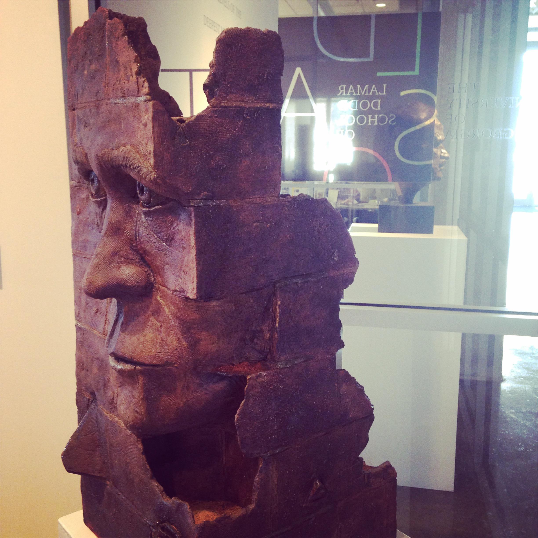 Papa, Fall 2014  Here: Lamar Dodd School of Art, solo, March-April 2015; Also in BFA Exit Exhibition in December 2014 and Art Education Exit Exhibition, April 2015