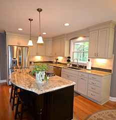 Clean and Crisp    Westerville, Ohio, Kitchen Remodel