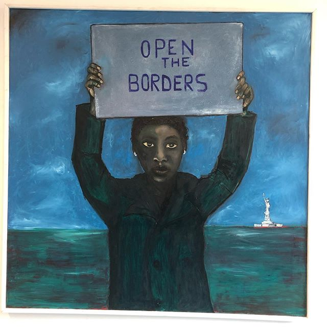 #others #refugeeswelcome #harshreality #venicebiennale