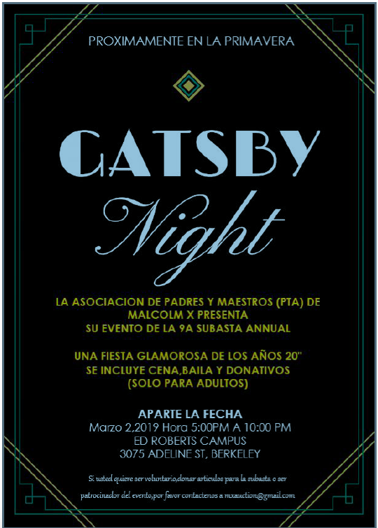 Gatsby Spanish