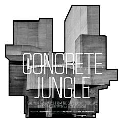 Ретушь фотосессии «Concrete Jungle»..