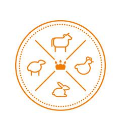 Логотип интернет-магазина еды для животных «Лавка Гавка»..