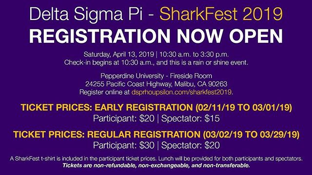 SharkFest registration is now open! 🦈