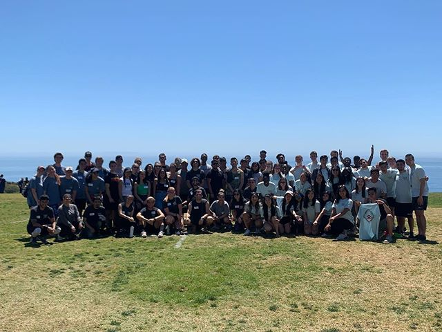 Today, Rho Upsilon hosted SharkFest 2019 in Malibu, CA. This intercollegiate event brought nearly 100 #Deltasigs together from all over the South Pacific Region. Competition was fierce as brothers battled it out in flag football, soccer, a pie eating contest, Jeopardy, a spelling bee, and a lip sync battle! This spectacular event provided the perfect opportunity for brotherhood connection across chapters. Ultimately, @clu_dsp took home this year's trophy. Thank you to all who came, participated, and supported! 💜💛 • • • #SharkFest2019 #DSP #DeltaSigmaPi @deltasigmapi