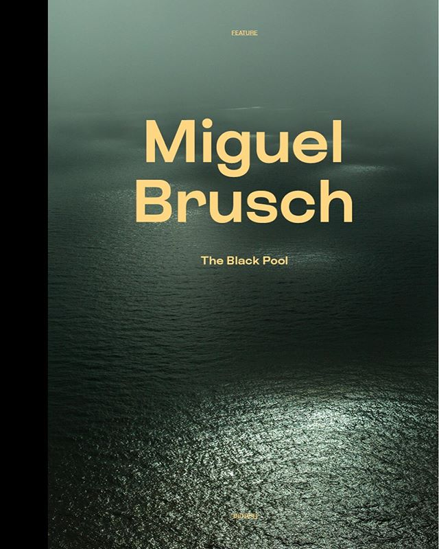 From the mag @miguelbrusch powerful series The Black Pool
