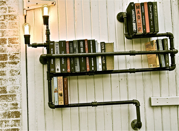 Bookshelf industrial 1