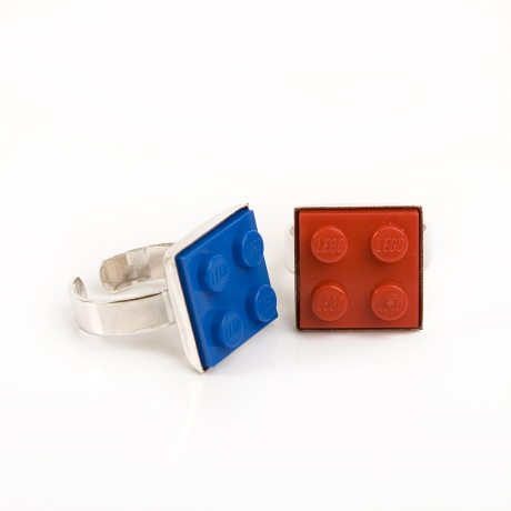 Handmade Re-cycled Building Brick Lego Cuff Links