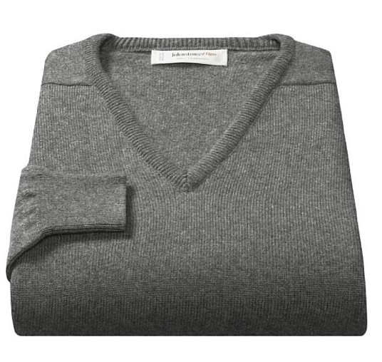 cashmere sweater Johnstons of Elgin