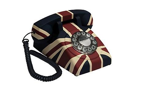union jack telephone