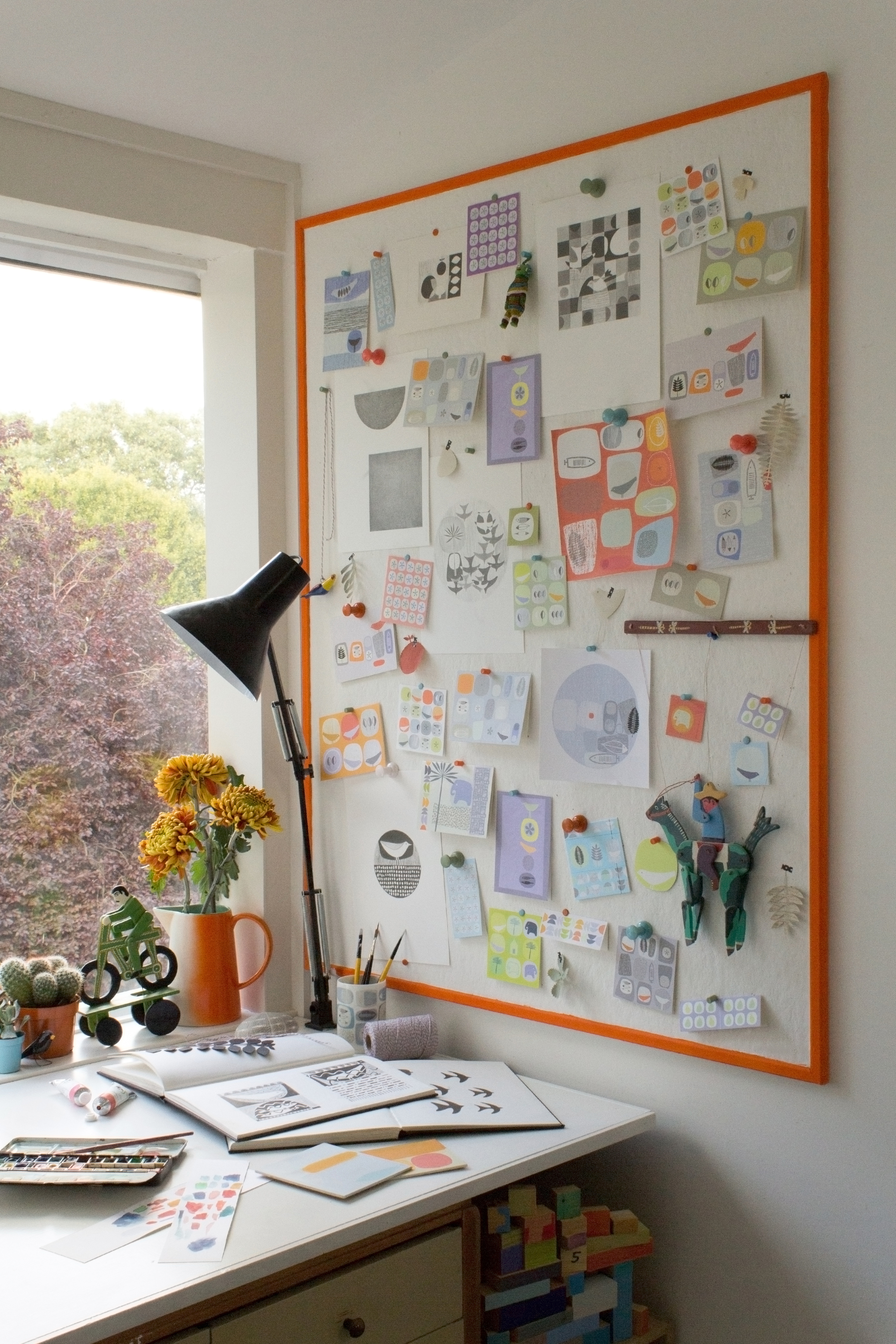 Sarah's Dulwich studio