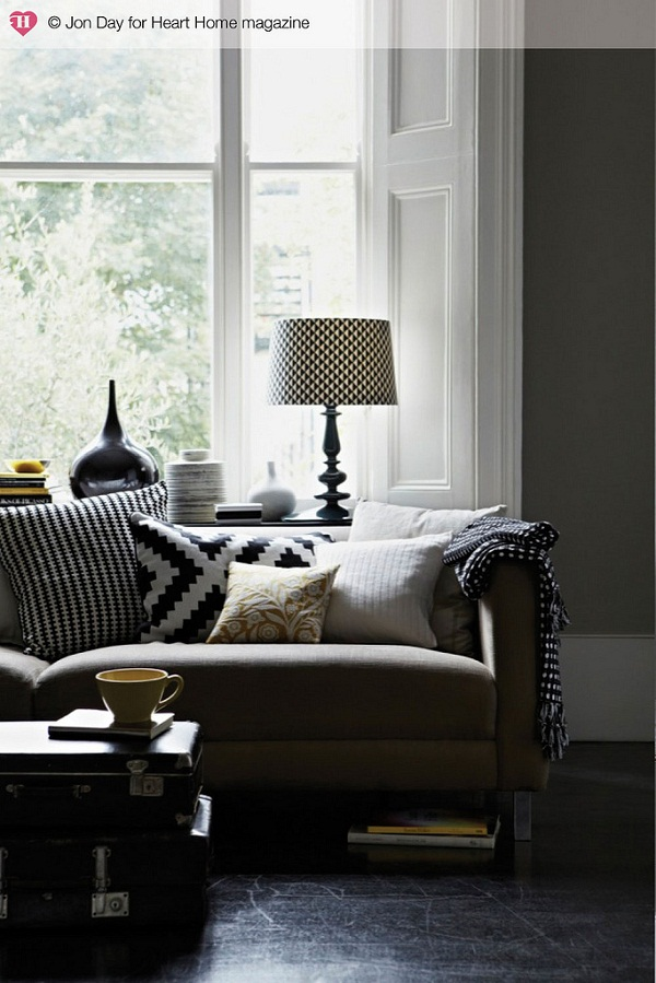 Styled by Elkie Brown and photographed by Jon Day for Heart Home magazine.