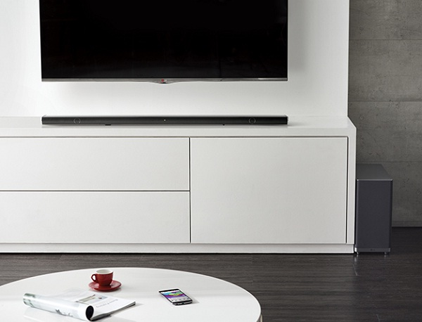 Sound-Bar and Wireless Sub-Woofer