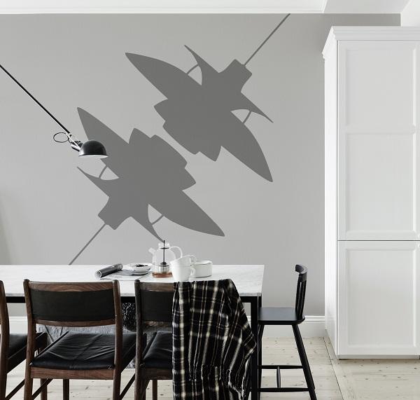 Poul Henningsen Lamp Wall Mural