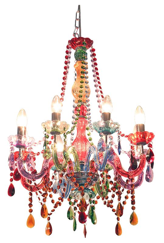 Carnival Multi-Coloured Chandelier from Charlotte Rose Interiors