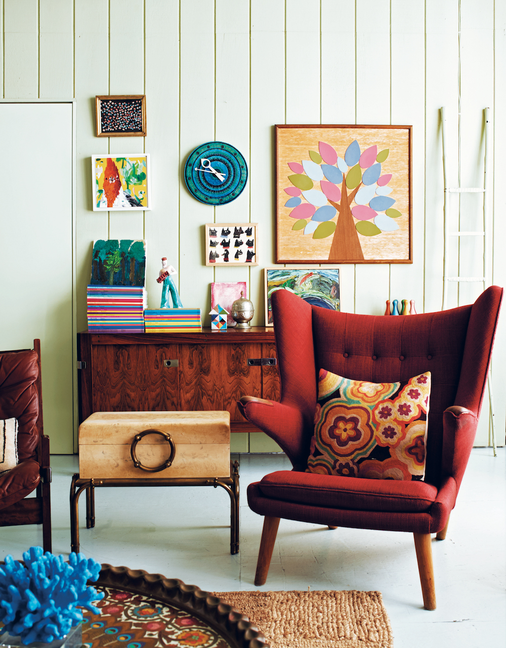 Curious Collector: Home of props stylist Martin Bourne in Brooklyn's Dumbo.