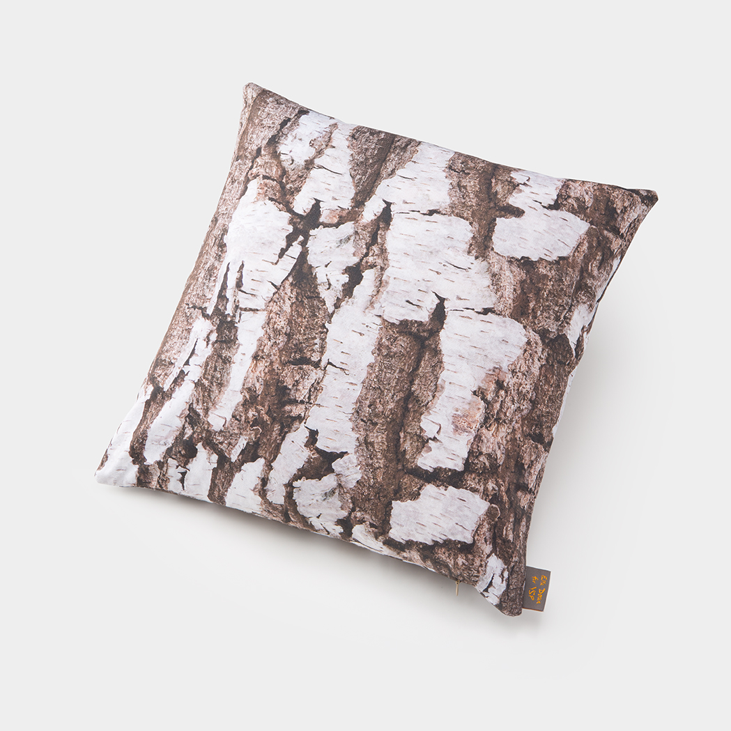 Ella Doran for YSP, Woodland Bark Cushion. Courtesy the artist and Yorkshire Sculpture Park