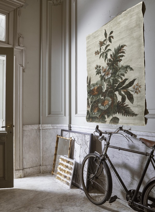Kyoto Linen Wall Hanging £130, available from end of April.