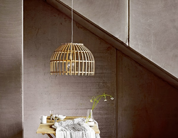 Bamboo Basket Dome Shade £55. In stock from mid March.