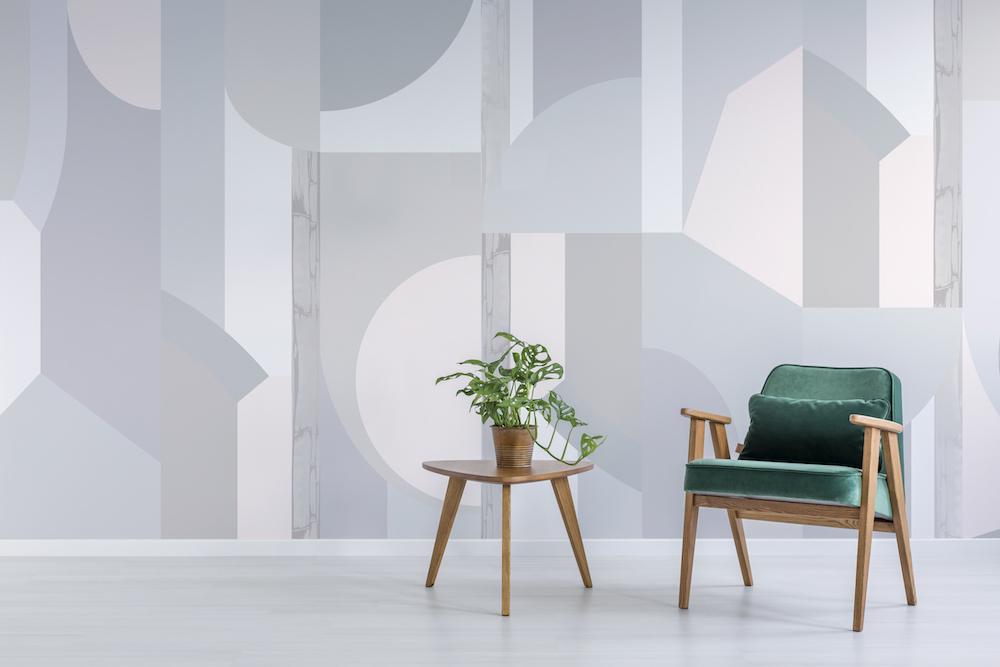 Bespoke Atelier Glasshouse Dusk Foundation Wallpaper.