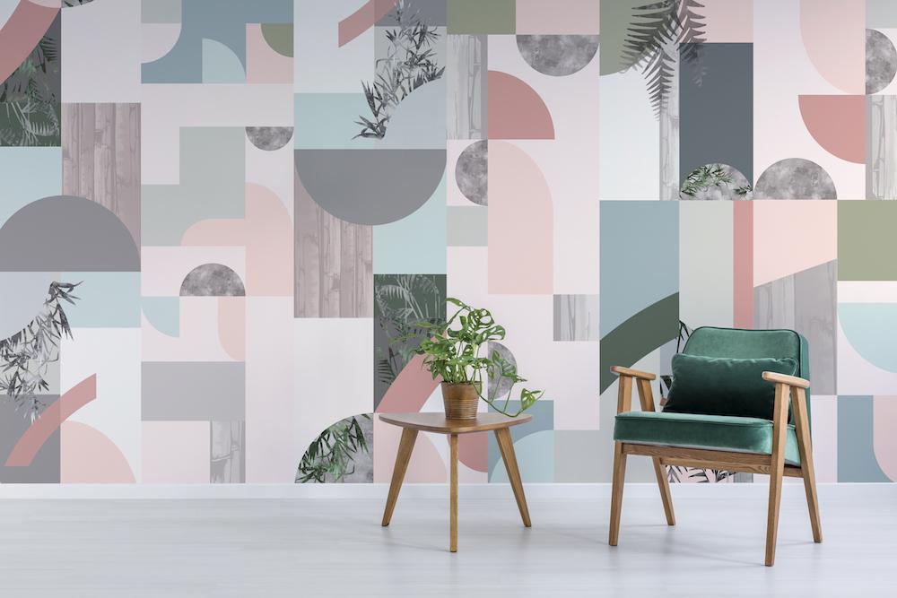 Bespoke Atelier, Glasshouse Dawn Reflection Wallpaper.
