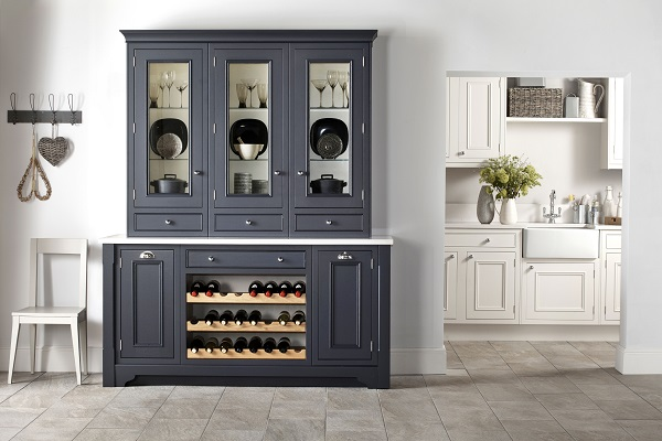 Burbidge Salcombe Painted Dresser in Charcoal and Chalk From £2,200