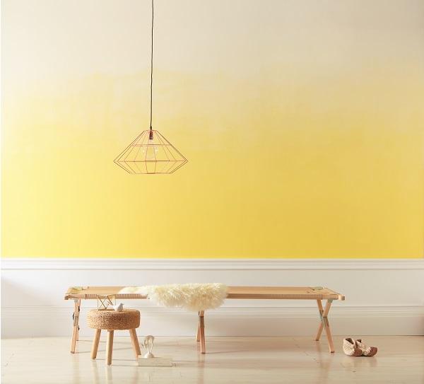 Valspar Yellow Ombre 002