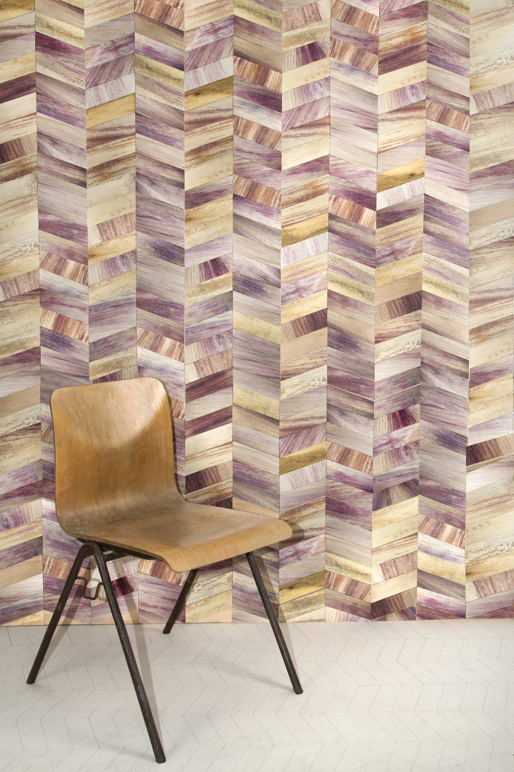 Totomoxtle tile wall