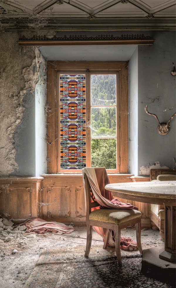 Taking Window Film To A Whole New Art Deco Level Heart Home