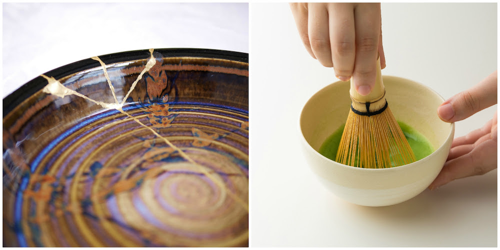 Wagumi's Kintsugi Plate and Japanese Tea making with Ippodo at Japan House.