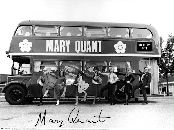The Mary Quant Beauty bus, 1971 © INTERFOTO Alamy