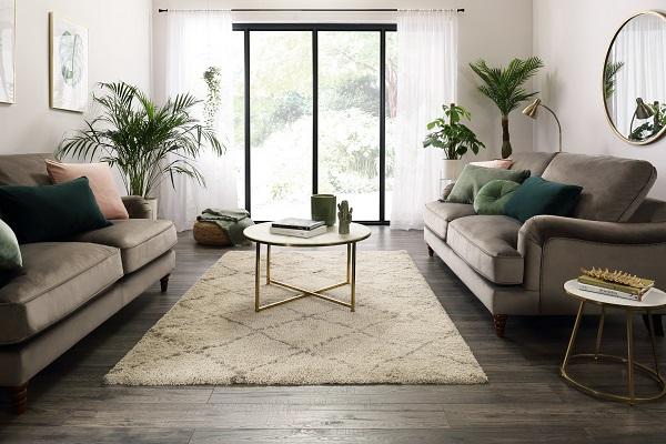 Charleston Mink Velvet Sofa