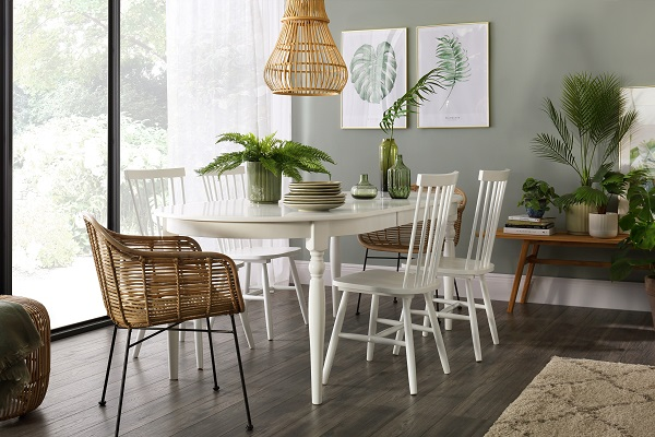 Albany Table and Pendle Chairs Dining Set