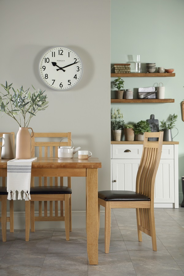 Highbury Oak Extending Dining Table with Bali Chairs £529.99 from Furniture Choice
