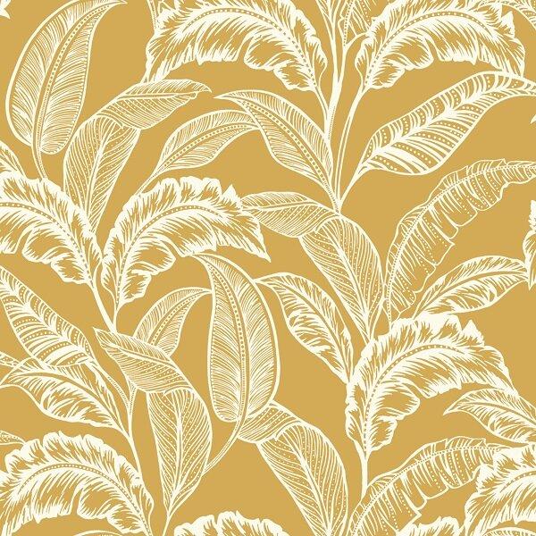 Accessorize Mozambique Wallpaper - Yellow Ochre Cut Out.jpg
